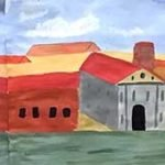 powder paint townscape