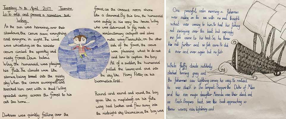 handwriting school improvement